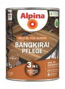 Alpina Bangkirai-Pflege Holz-Öl für Gartenhölzer 2,5L 3in1 imprägniert, frischt auf, pflegt