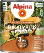 Alpina Eukalyptus-Pflege Holz-Öl für Gartenhölzer 2,5L 3in1 imprägniert, frischt auf, pflegt