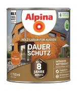 Alpina Holz-Lasur für Außen Dauer-Schutz Mahagoni 750ml