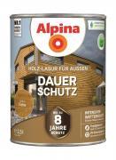 Alpina Holz-Lasur für Außen Dauer-Schutz Eiche 2,5 L