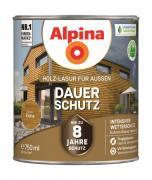 Alpina Holz-Lasur für Außen Dauer-Schutz Eiche 750ml