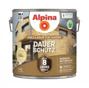 Alpina Holz-Lasur für Außen Dauer-Schutz Farblos 4 L