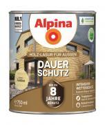 Alpina Holz-Lasur für Außen Dauer-Schutz Farblos 750ml