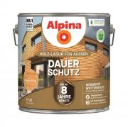 Alpina Holz-Lasur für Außen Dauer-Schutz Oregon Pine 4 L