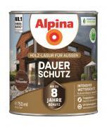 Alpina Holz-Lasur für Außen Dauer-Schutz Palisander 750ml