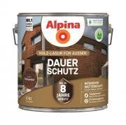Alpina Holz-Lasur für Außen Dauer-Schutz Palisander 4 L