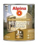 Alpina Holzschutz-Grund Holz-Grundierung für Außen Farblos 750ml