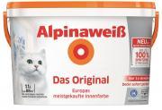 Alpina Innenfarbe Wandfarbe Alpinaweiß Das Original matt 11 L Aktion