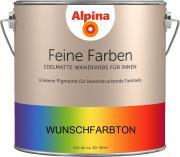 Alpina Innenfarbe Wandfarbe Feine Farben RAL 9004 Signalschwarz Wunschfarbton 2,5 L