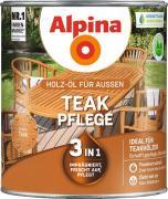 Alpina Teak-Pflege - Holz-Öl für Gartenhölzer 3in1 - imprägniert, frischt auf, pflegt 2,5L