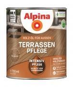 Alpina Terrassen-Pflege Holz-Öl für Außen Bangkirai 2,5 L