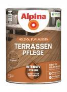 Alpina Terrassen-Pflege Holz-Öl für Außen Bangkirai 750ml