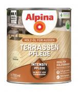 Alpina Terrassen-Pflege Holz-Öl für Außen Farblos 750ml