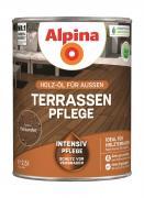 Alpina Terrassen-Pflege Holz-Öl für Außen Palisander 2,5 L