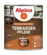 Alpina Terrassen-Pflege Holz-Öl für Außen Palisander 750ml