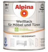 Alpina Weißlack für Möbel & Türen seidenmatt 750 ml