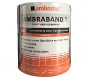 Ambratec Ambraband T Klebe- und Abdichtband transparent 10 x 150cm