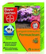 Bayer Langzeit-Unkrautfrei Unkrautentferner Permaclean 10 x 50 g