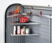 Biohort Eck-Regale-Set StoreMax 120/160, 54 cm (2 Stück)