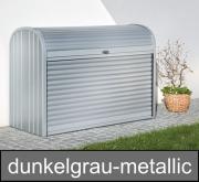 Biohort StoreMax 190, dunkelgrau-metallic, 190 x 97 x 136 cm