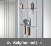 Biohort Werkzeughalter für Tür, dunkelgrau-metallic (2 Stück)