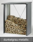 Biohort WoodStock 150, dunkelgrau-metallic, 157 x 102 x 199 cm