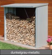 Biohort WoodStock 230, dunkelgrau-metallic, 229 x 102 x 199 cm