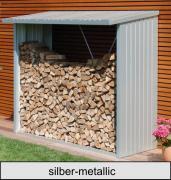 Biohort WoodStock 230, silber-metallic, 229 x 102 x 199 cm