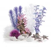 biOrb Aquarium Dekoration Decor Set 30L Pink Ocean 26 x 31 x 18 cm