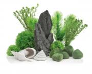 biOrb Aquarium Dekoration Decor Set 30L Stone Garden 26 x 31 x 18 cm