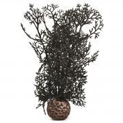 biOrb Aquarium Dekoration künstliche Hornkoralle klein schwarz