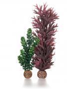 biOrb Aquarium Dekoration künstliche Pflanzen Seeperlen & Seetang olivgrün