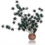biOrb Aquarium Dekoration künstliche Pflanzen Bonsai Ball schwarz 8 x 6 x 18 cm