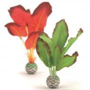 biOrb Aquarium Dekoration künstliche Seidenpflanzen Set klein grün & rot