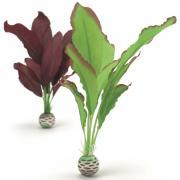 biOrb Aquarium Dekoration künstliche Seidenpflanzen Set mittel grün & lila