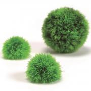 biOrb Aquarium Dekoration künstlicher Dekogewächsball Set 3 grün