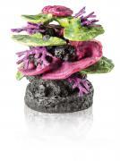 biOrb Aquarium Dekoration Korallen Fels Ornament grün-lila 22 x 22 x 26 cm
