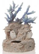 biOrb Aquarium Dekoration Ornament Korallenriff blau 21,8 x 16 x 18,5 cm