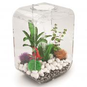 biOrb Nano-Aquarium Komplett-Set LIFE 15 LED transparent
