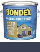 Bondex Dauerschutz-Farbe 0,75 L Ozean Blau
