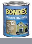 Bondex Dauerschutz-Farbe 0,75 L Platinium / Granitgrau