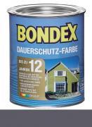 Bondex Dauerschutz-Farbe 0,75 L Wetterschutz Montana / Taupe
