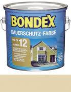 Bondex Dauerschutz-Farbe 2,5 L Champagner / Cremeweiß