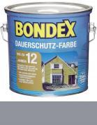 Bondex Dauerschutz-Farbe 2,5 L Platinum / Granitgrau