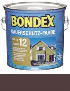 Bondex Dauerschutz-Farbe 2,5 L Schokoladenbraun / Kakao