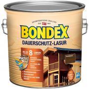 BONDEX Dauerschutz-Lasur 2,50 L Wetterschutz Nussbaum