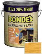 BONDEX Dauerschutz-Lasur 3 L Eiche Hell 20% mehr