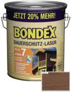 BONDEX Dauerschutz-Lasur 3 L Nussbaum 20% mehr