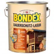 BONDEX Dauerschutz-Lasur 4,00 L Wetterschutz Nussbaum