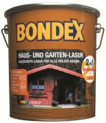 BONDEX Haus- und Gartenlasur 2in1 4,0 L Nussbaum
